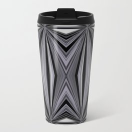 Monochromatic Diamond Travel Mug