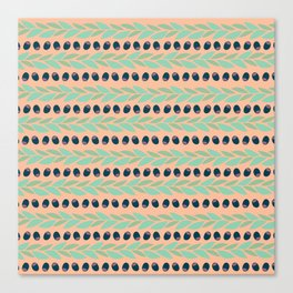 Tapas - Rows Canvas Print