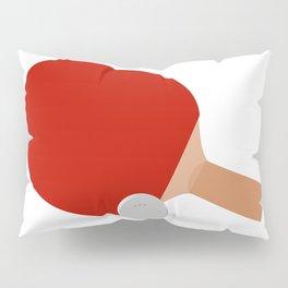 Ping-Pong Racket & Ball Pillow Sham
