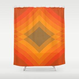 Harvest Stack Shower Curtain