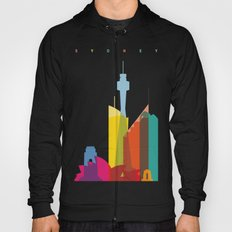 Shapes of Sydney. Accurate to scale Hoody