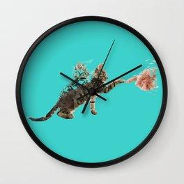 Time Cat Wall Clock