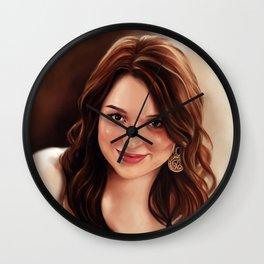 Emma Stone Wall Clock