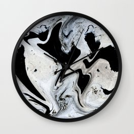 Black_paint Wall Clock
