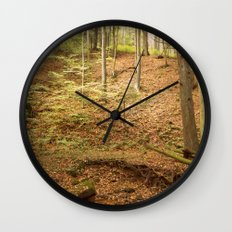 Life Is Uphill Wall Clock