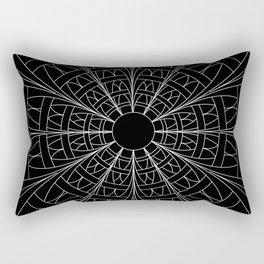 Jumping Through Hoops (White-Line Version) Rectangular Pillow