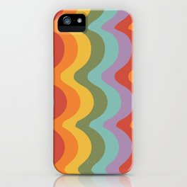 Rainbow Stripes 2 iPhone Case