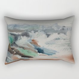 Ocean Surf Rectangular Pillow
