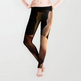 7823-AK Woman Viewing Herself in Mirror Fine Art Nude Leggings
