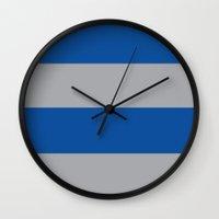 ravenclaw Wall Clocks featuring Ravenclaw by Yajaira Gomez