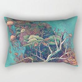 Coral Communities Rectangular Pillow