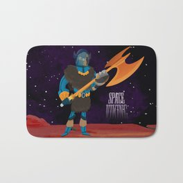 Space Viking (in Space) Bath Mat