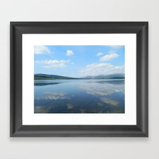 Loch Clatteringshaws SW Scotland Framed Art Print