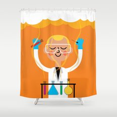 Science is Fun Shower Curtain