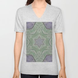star background texture for brochure and card Unisex V-Neck