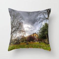 Greyfriars Kirk Church Edinburgh Throw Pillow