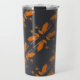 Orange chamomiles Travel Mug