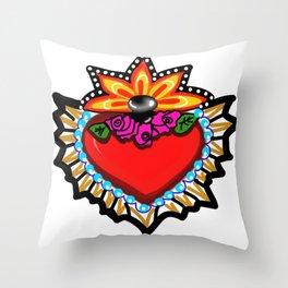 Heart Milagro Throw Pillow