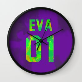 EVA-01 Revision Wall Clock