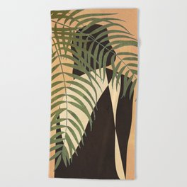 Resting in a Shade Beach Towel
