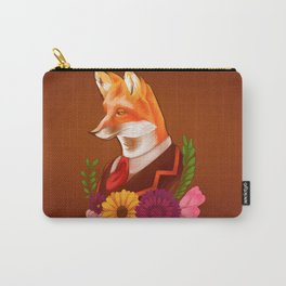 Victorian Fox Carry-All Pouch