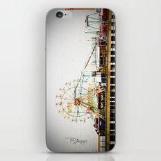 Steel Pier iPhone & iPod Skin
