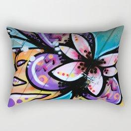 Bright Butterfly Rectangular Pillow