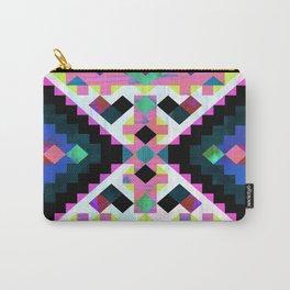 Hana Geometric Carry-All Pouch