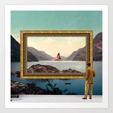 The Curator Art Print