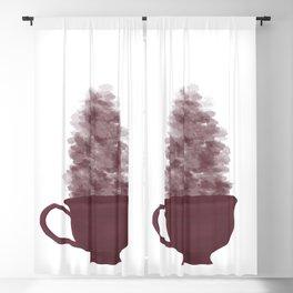Berry Teacup Blackout Curtain