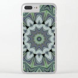 Reflecting Pattern Mandala 2 Clear iPhone Case