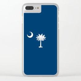 South Carolina Clear iPhone Case