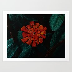 The Dangerous Flower Art Print