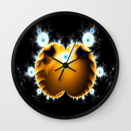 Fractal Creature Wall Clock