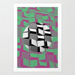 Pink Hole Art Print