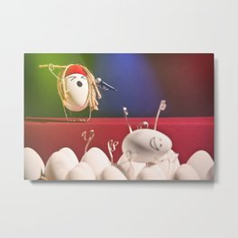 Egg Rock Concert Metal Print