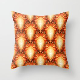 Clusters of Sun Stars... Throw Pillow