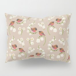 Brown-capped rosy finch Pillow Sham