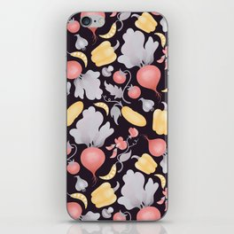 Vegetables (dark) iPhone Skin