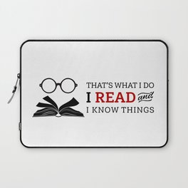 That's What I Do Laptop Sleeve