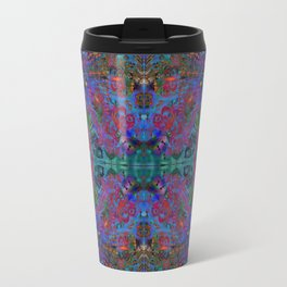 Butterfly dance geometry II Travel Mug