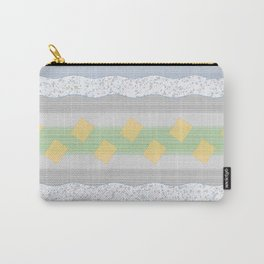 Gray design Carry-All Pouch