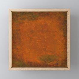 Weathered Copper Texture Framed Mini Art Print