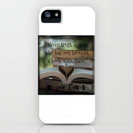 Trust Books iPhone Case