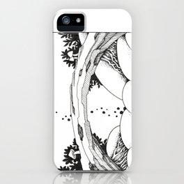 Magic Highland iPhone Case