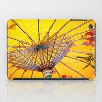 asia iPad Cases featuring Asia Umbrella by Claudia Otte ArtOfPictures
