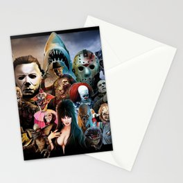 Classic Horror Movies Stationery Cards