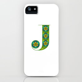J - Amarilis iPhone Case