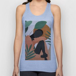 Tropical Girl 10 Unisex Tank Top