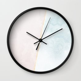 Simple Marble Wall Clock